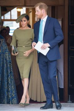 Aunt Meghan's Big Debut! Prince Harry and Meghan Markle Step Out for Prince Louis' Christening