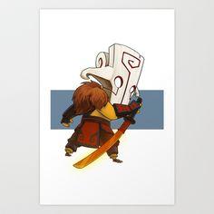 Dota 2 - Juggernaut Art Print by Malini Wan - $17.68