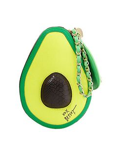 NEED THIS avocado wristlet by Betsey Johnson.