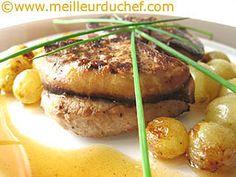 Medaillon de veau et foie gras