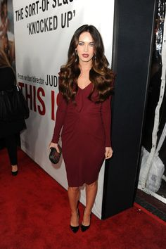 """Megan Fox Photos: Premiere Of Universal Pictures' """"This Is 40"""" - Red Carpet"""