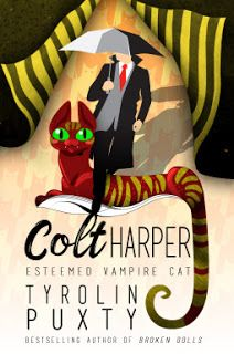 With Love for Books: Book Review - Colt Harper: Esteemed Vampire Cat by...