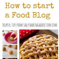 blog start food business