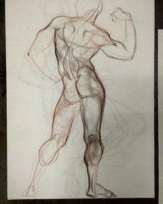 "azatnurgaleev: ""Набросок с натуры #art#sketch#illustration#drawing#зарисовки#набросок#canvas#lineart#body#anatomy#plastic#рисунок#скетч#штиглица#skillsupschool"""