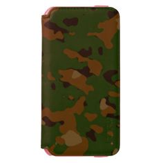Military camouflage patterns v12 incipio watson™ iPhone 6 wallet case