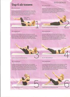 ab toner workout