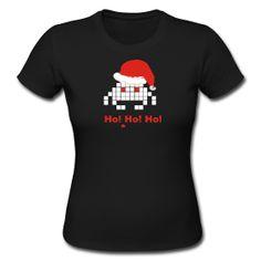 #Womens Space invader christmas ~ 161  women T-shirt #2dayslook #new #shirt #nice  www.2dayslook.com