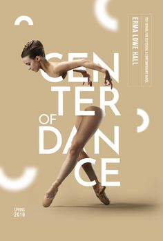 dance poster design Center of Dance - Graphis - posterdesign Web Design, Graphic Design Trends, Graphic Design Posters, Logo Design, Ballet Posters, Dance Logo, Body Painting, Plakat Design, Leaflet Design