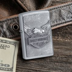 Personalized Iron Eagle Harley Davidson Zippo Lighter