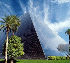 Luxor Hotel Las Vegas. Coolest place on the strip, the giant pyramid! Awesome casinos and night club.