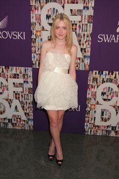 Vestido festa 15 anos - Dakota-Fanning (Coleção: Marchesa)