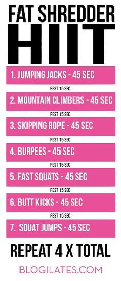 HIIT workout that you can do at home. All part of a healthy lifestyle. #hiit #hiitworkout