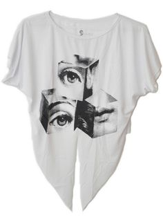 Cropped Laço Dados Art Pop #cropped #dados #fashion #art #girls #modafeminina #casual #pop