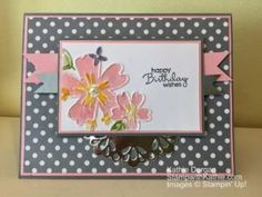 Stampin' Up! Floral Affection TIEF
