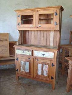 Resultado de imagem para como fazer um armario de cozinha de madeira