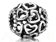 Pandora Silver Beads ~ Authentic Silver Pandora Charms ~ Gillett's Jewellers
