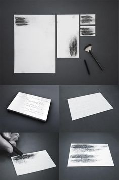 Private Detective Y. Shorohov: Fingerprint lifting stationery | Ads of the World™
