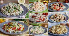 Insalate di riso le migliori ricette di riso freddo gustosissimo, veloce da preparare, perfetto per l'estate, da portare al mare