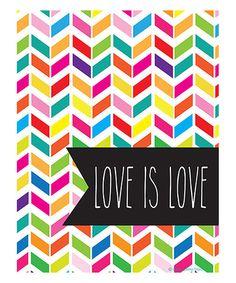 Love is Love print #lovewins