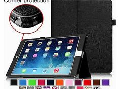 FINTIE iPad Air 2 Case [Corner Protection] - Fintie Slim Fit Leather Folio Case with Smart Cover Auto Sleep No description (Barcode EAN = 0665960964627). http://www.comparestoreprices.co.uk/leather-cases/fintie-ipad-air-2-case-[corner-protection]--fintie-slim-fit-leather-folio-case-with-smart-cover-auto-sleep.asp