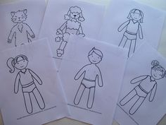 Aunt Lindy's Paper Dolls  | the paper doll christmas by the clothes fabric jan dolls