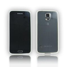 Samsung Galaxy S5 White Frame Skin Case
