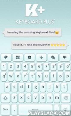 Keyboard Qwerty  Android App - playslack.com ,  How to install a Keyboard Plus theme? Just follow these easy steps:1. Download Keyboard Qwerty from Google Play Store2. Open the Keyboard Qwerty theme3. Apply the theme by pressing the - Activate - button from the Keyboard Plus Theme ManagerIf you want to change your font size just go to the Quick Settings Tab and choose from one of the 3 available sizes: small, medium or large.This Keyboard Plus theme uses a free Google Font available here…