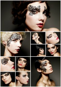 Face Lace by Phyllis Cohen