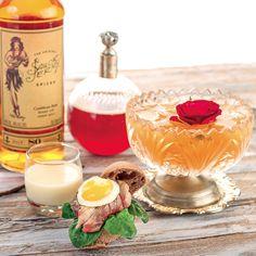 By Charles Flamminio cl. 3 di Carambola, Heargray al bergamotto, cedrata, Cherry, lavanda, violetta cl. 6 di Rum cl. 1 di lime cl. 5 di Ginger Beer  #lamadia #cocktail #gingerbeer #carambola