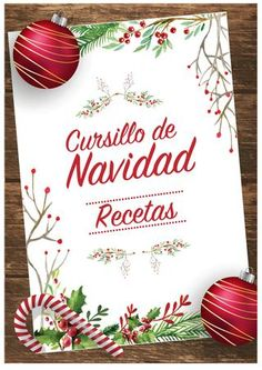 """Find magazines, catalogs and publications about """"recetario navidad"""", and discover more great content on issuu. Christmas Cake Recipe Traditional, Christmas Time, Christmas Bulbs, Jam Cookies, Food Decoration, Sweet Cakes, Vintage Recipes, Chocolate Lovers, Tapas"""