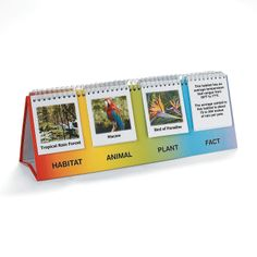 Habitats Flip Chart Set Discontinued