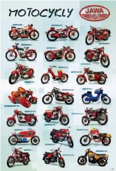 Antique Motorcycles, Cars And Motorcycles, Moped Scooter, Vespa, Moto Jawa, Jawa 350, History Posters, Cafe Racing, Motorcycle Manufacturers