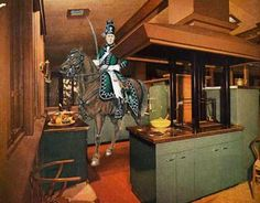BULL IN A CHINA SHOP #01Riding a horse in a Formica kitchenimage by Traumnovelle