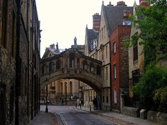 "The ""Bridge of Sighs"" outside New College, Oxford"