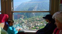 SZwajcaria Chamonix Mont Blanc, Norfolk, Windows, Window