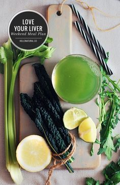 Love Your Liver Weekend Cleanse Meal Plan