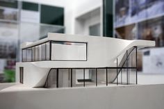 Model of Haus am Weinberg, Stuttgart, by UNStudio Ben van Berkel, Caroline Bos by bcmng, via Flickr