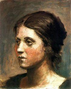 Pablo Picasso - Portrait of Olga (1919)