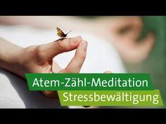 Stressbewältigung - Achtsamkeitsübung: Atem-Zähl-Meditation bei Schlafproblemen - YouTube