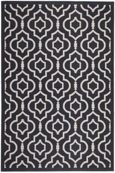 Safavieh Courtyard CY-6926 Black / Beige (266) Area Rugs 215.00 7 10 x 7 10