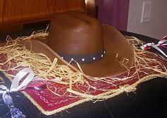 cowboy cake! tutorial
