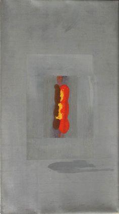 Bleigruppe Teil 1 - Bleibild von Ute Latzke, Mixed Media: Blei, Acryl, MDF-Platte. #blei #lead #art #mixedmedia #graphic