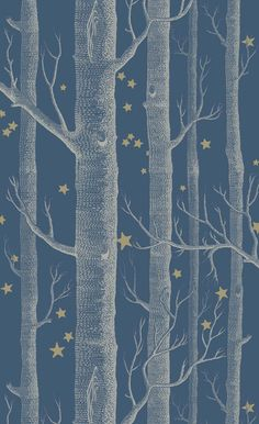 Woods and Stars wallpaper by Cole and Son