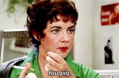 New trending GIF on Giphy. grease stockard channing betty rizzo you pig. Follow Me CooliPhone6Case on Twitter Facebook Google Instagram LinkedIn Blogger Tumblr Youtube