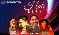 Bollyboom-Holi Bash 2017 |Lifestyle Events In Mumbai,Maharshtra-Indiaeve