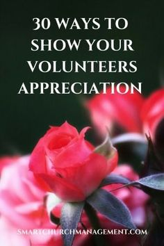 Volunteers give of their time freely and don't ask for anything in return but keeping volunteers engaged and motivated is what showing them appreciation if all about.