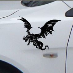 Awesome Dragon Graphics Decals Under Clear Enamel - Vinyl stickers for motorcycle helmetsdragon hyper reflective decal motorcycle helmet safety sticker