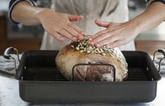 Everything you need to know to roast a perfectly cooked leg of lamb for your holiday meal.