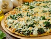 A Florentine Pizza for #MeatFreeMonday and #NationalVegetarianWeek