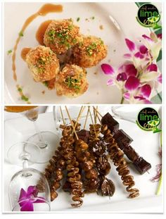 Balut (Duck Egg) and Isaw  Chef Archie's Lime    source: website